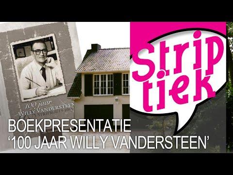 Boekvoorstelling '100 jaar Willy Vandersteen & Striproute 2013'