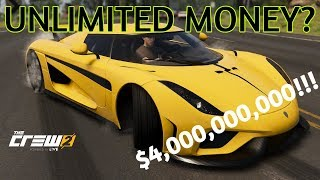 UNLIMITED MONEY in The Crew 2!!!