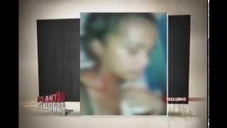 Menor traficante filma espancando a namorada