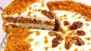 Морковный Бархатный торт /Невероятно вкусный