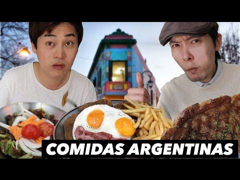 PROBANDO COMIDAS ARGENTINAS | En Caminito