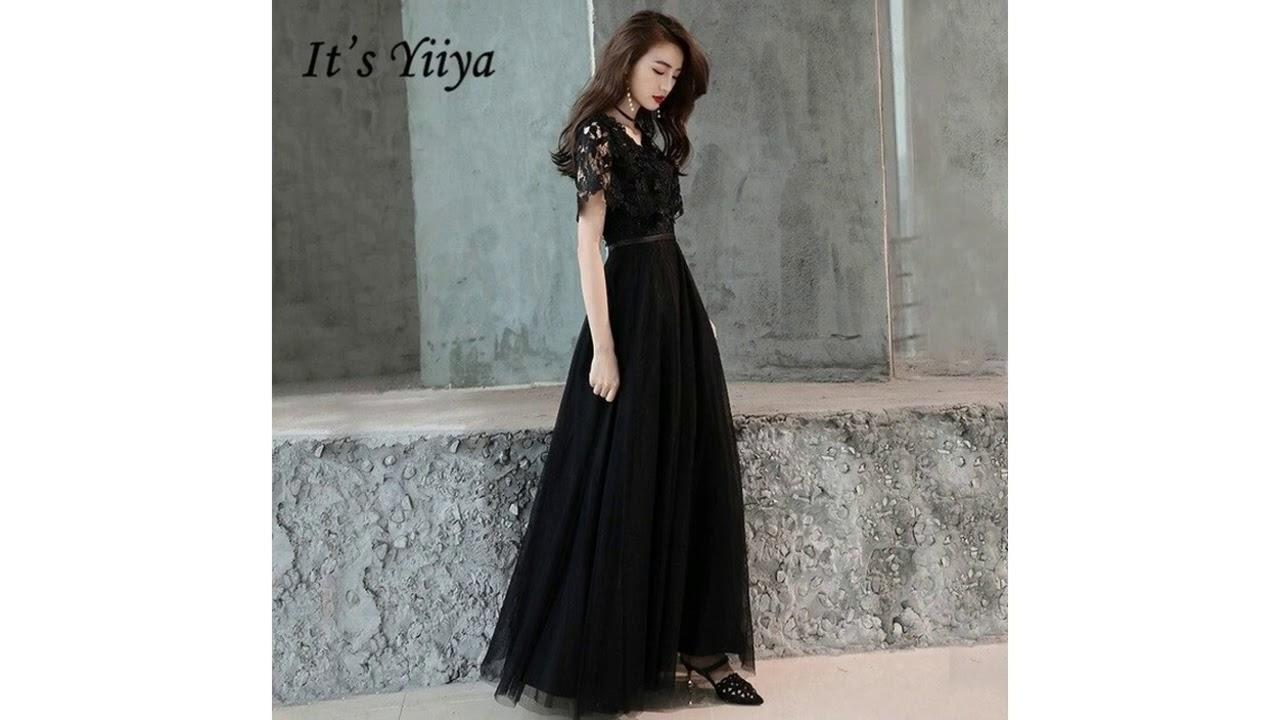 Vestido De Boda Negro