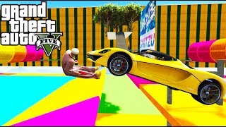 RUNNING FOR MY LIFE! - GTA 5 Online Funny Moments