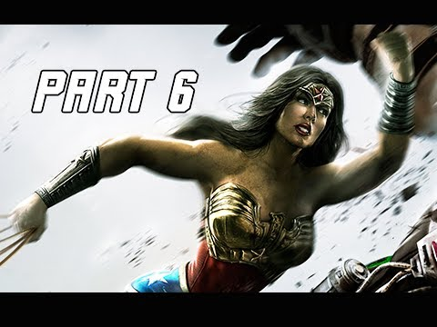 Injustice Gods Among Us Walkthrough Part 6 - Wonder Woman (Let