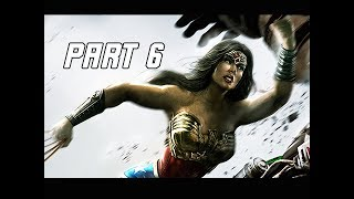Injustice Gods Among Us Walkthrough Part 6 - Wonder Woman (Let's Play Commentary)