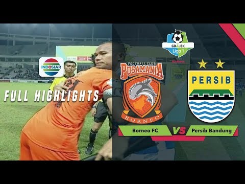 Image of BORNEO FC (0) vs (1) PERSIB BANDUNG - Full Highlight | Go-Jek Liga 1 bersama Bukalapak