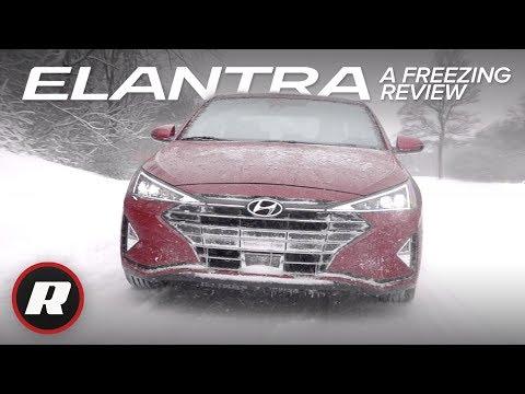 2019 Hyundai Elantra Sedan: Refreshed And Affordable   Review And Snow Drive