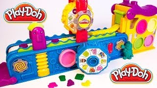 Play Doh Fun Factory Play Doh Mega Fun Factory Machine Playdough Hasbro Toys Review