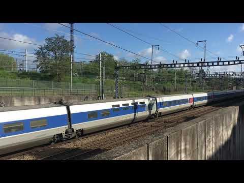 TGV Atlantique 24019/020 effectue le TGV 8360 La Rochelle Paris Montparnasse
