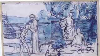 Exposition : Aquarelles de Puvis de Chavannes
