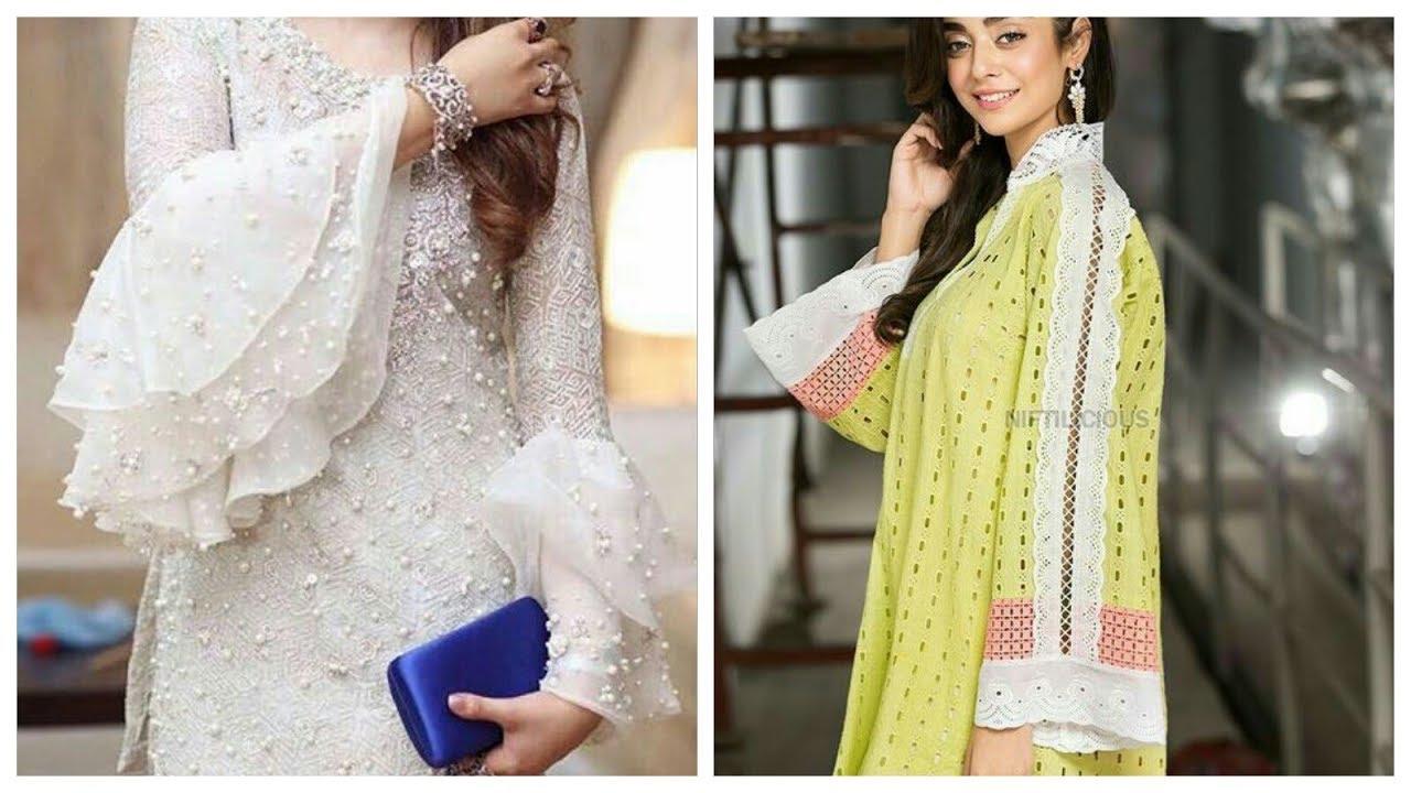 Cotton Kurti Sleeves Designs 50 + Style Idea's In 1 Video #1