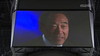 Isles Hold Moment of Silence of Charles Wang | New York Islanders | MSG Networks