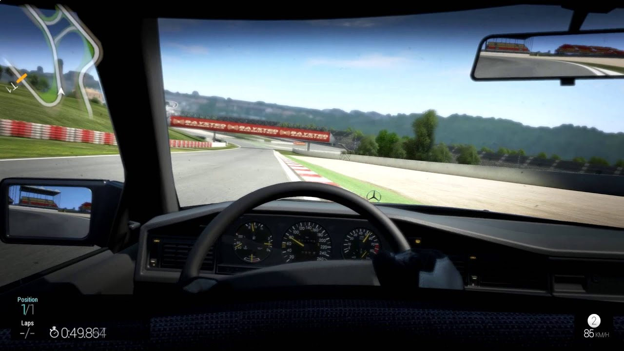 Project Cars | Mercedes Benz 190E 2.5-16 Evolution DTM | Catalunya | Hot Lap