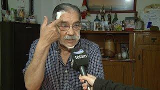 Un fotógrafo de Télam herido en los disturbios de Rosario