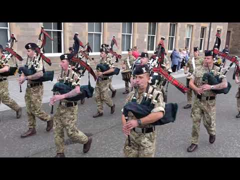 The Black Watch Homecoming Parades 2018 - Dunfermline & Perth [4K/UHD]