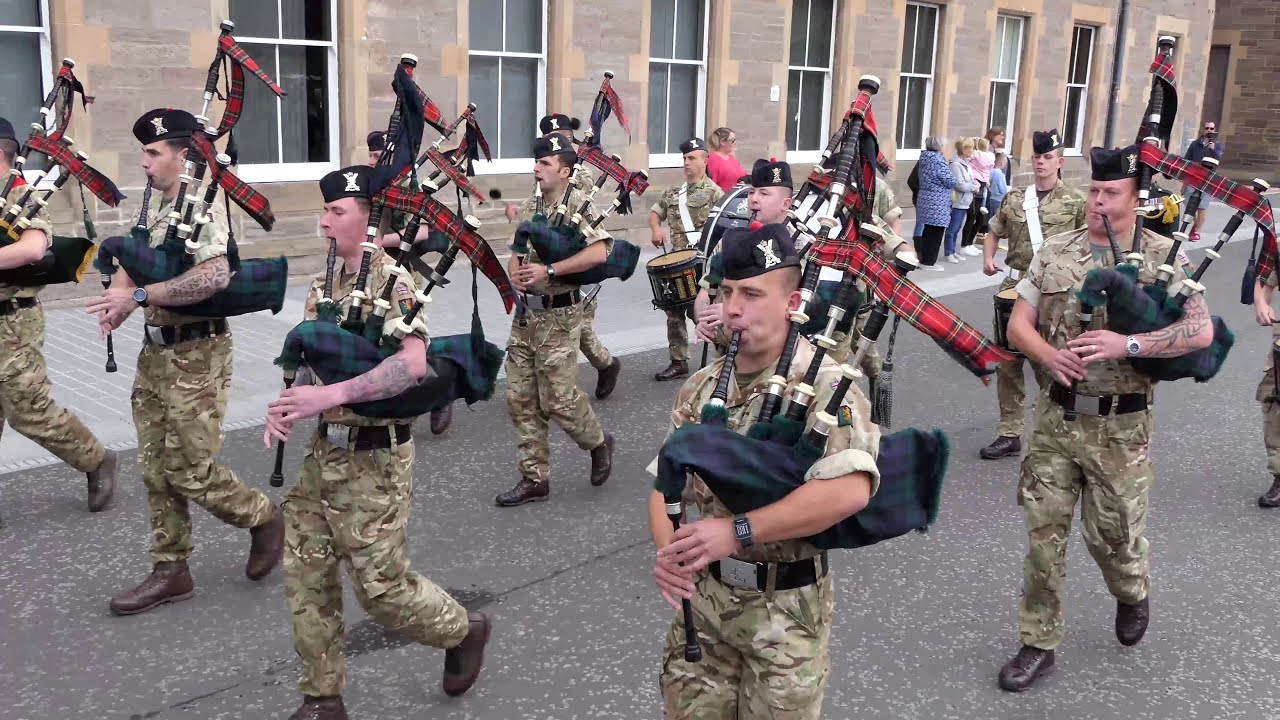 Download The Black Watch Homecoming Parades 2018 - Dunfermline & Perth [4K/UHD]