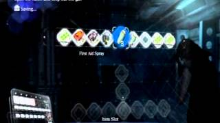 re6 how to save inventory at a checkpoint