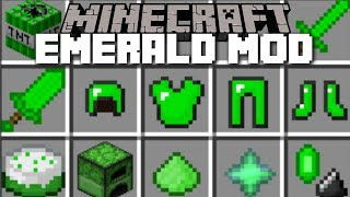 Minecraft EMERALD MOD / SURVIVE THE EMERALD MOBS!! Minecraft