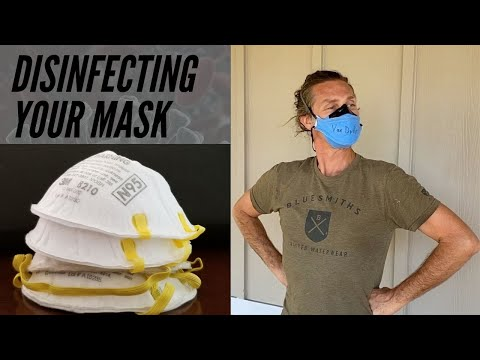 How To Disinfect Your N95 Mask At Home