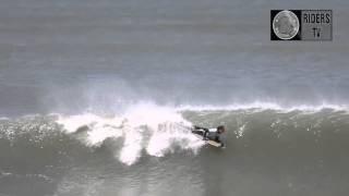 ♦RIDERS tv:  Dia epico (parte 2) - point: La Esco, Necochea, Arg. surfing & bodyboard