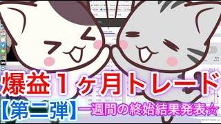 【第二弾1ヶ月トレード】¥198,000→¥241,740 thumbnail