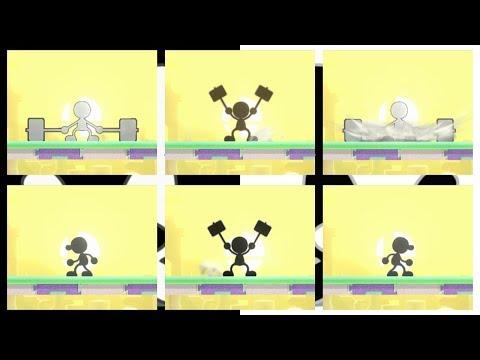 Download Youtube: 【スマブラWiiU】「Bad Apple!!」をMr.ゲーム&ウォッチで演奏した