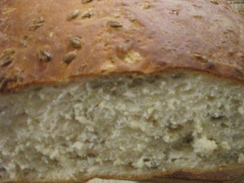 Хлеб с льняными семечками в хлебопечке