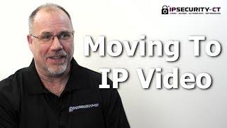 Security Cameras   Basics Of Migrating Existing Analog CCTV Camera System To IP