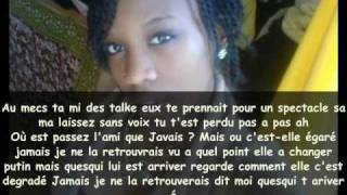 Karima amitié Gaché - Paroles
