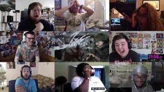 Attack on Titan Season 3 Episode 16 Reaction Mashup | Shingeki no Kyojin S3 Part 2 Eps 4 Reaction