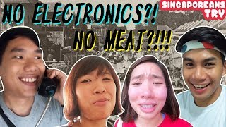 Singaporeans Try: Our Parents' Childhood Lifestyle for 72 Hours!