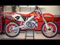 Ricky Carmichael's Championship Honda CR250 2 Stroke - Motocross Action Magazine