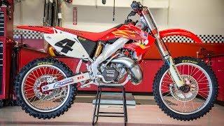 Ricky Carmichael39s Championship Honda CR250 2 Stroke - Motocross Action Magazine