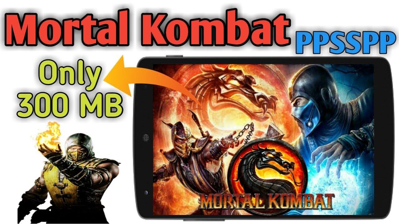 Mortal Kombat Highly Compressed 300 Mb Ppsspp Game Full