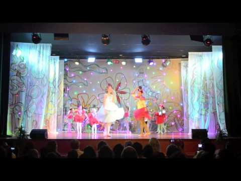 Happy Feet Ballet Performance Alice In Wonderland 2012