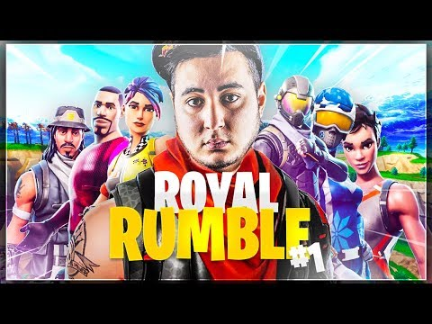 1VS1: ROBI CONTRE GOTAGA ! ► FORTNITE ROYAL RUMBLE #1
