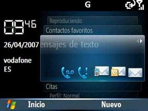 Samsung SGH-I600 BlackJack - Carrousel - Spanish (Español)