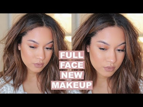 TRYING NEW MAKEUP! Full Face First Impressions | Marie Jay