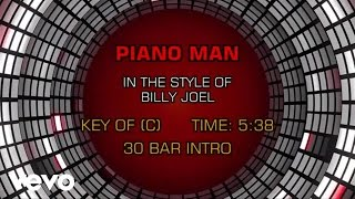 Billy Joel - Piano Man (Karaoke)