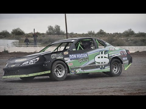 2/9/19 IMCA Stock Car Main Event Win Canyon Speedway Park