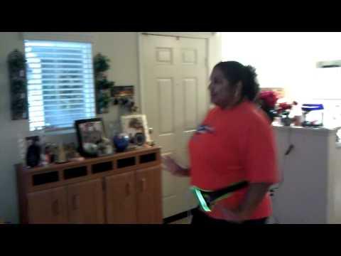 Wii Zumba Girl