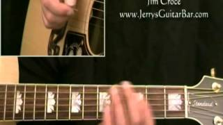 How To Play Jim Croce You Don