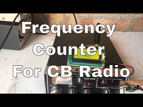 Frequency Counter for CB Radio