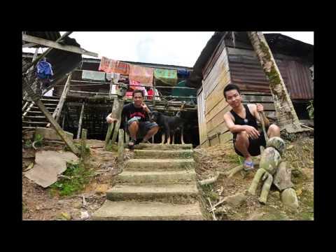 Borneo, Sarawak, Lubok Antu, Batang Ai, Long House 砂劳越,婆罗洲,巴当艾长屋