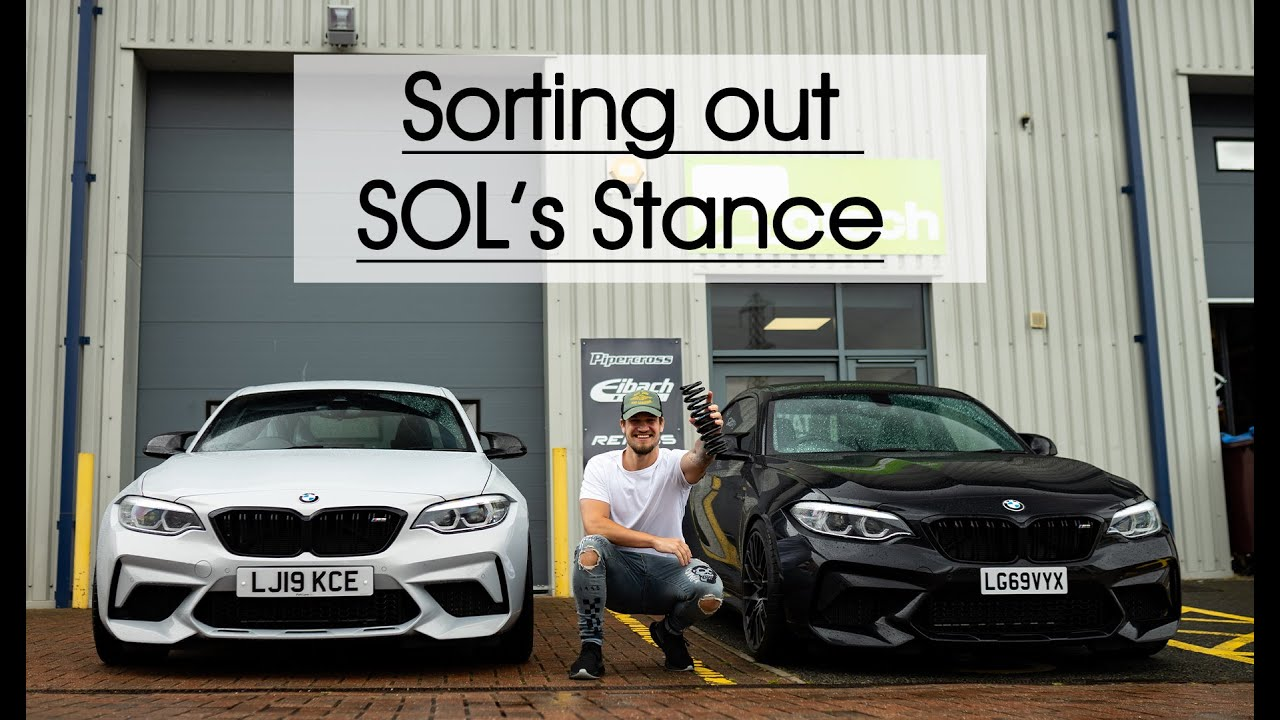 Sol Supercars Of London S Bmw M2 Get Motech Stance Eibach Springs Youtube