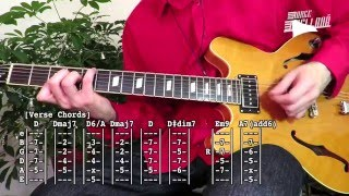 Jingle Bells Rock - Brian Setzer ( Guitar Tab Tutorial & Cover )