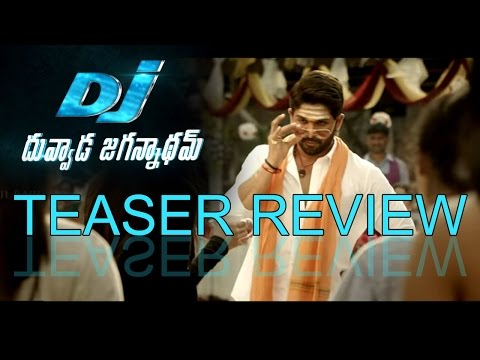 DJ Duvvada Jagannadham Teaser Review |...