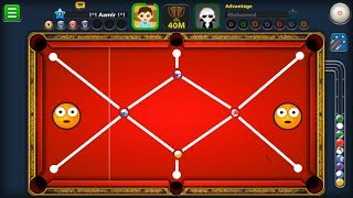 I POTTED FOUR BALLS IN ONE SHOT WITH BLACK-HOLE CUE - 8 BALL POOL