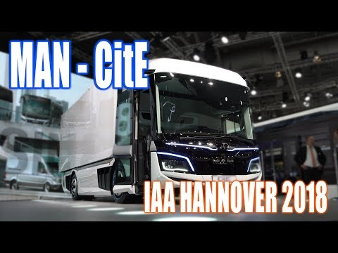 MAN reveals new CitE electric truck | Hannover IAA 2018