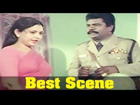Neethiyin Marupakkam Movie : Y. Vijaya, And Vinu Chakravarthy, Best Scene